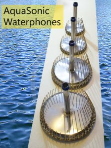 AquaSonic Waterphones - Four models